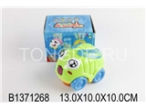 B/O CARTOON CAR W/MUSIC&LIGHT