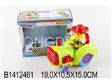 B/O CARTOON CAR W/LIGHT&MUSIC